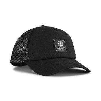 Element Icon Mesh Trucker Cap - All Black