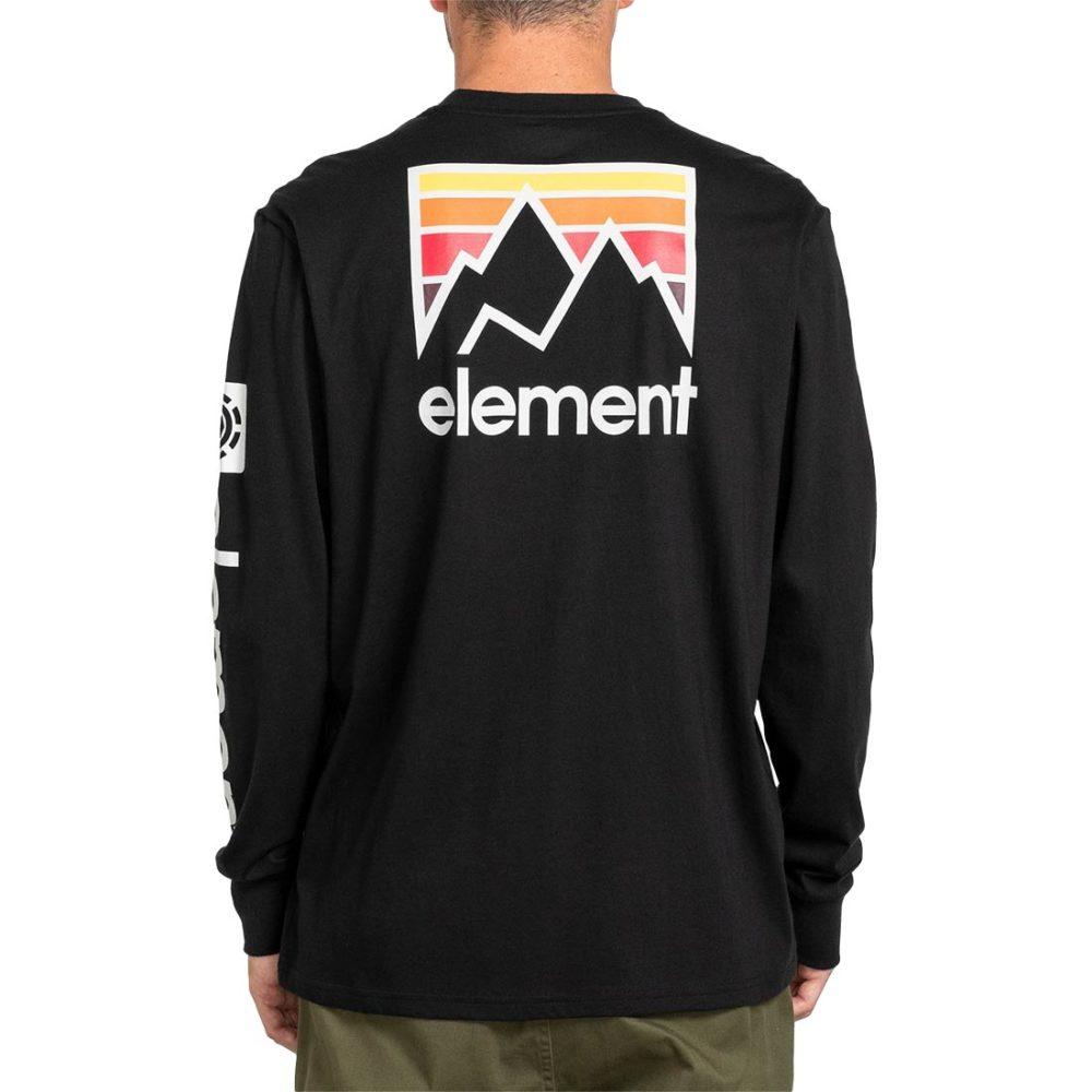 Element Joint L/S T-Shirt - Flint Black