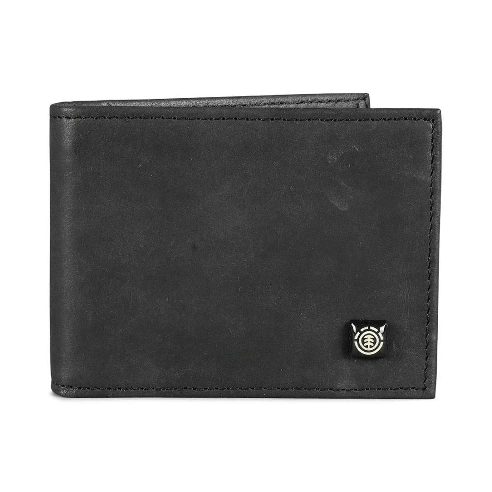 Element Segur Leather Wallet - Black
