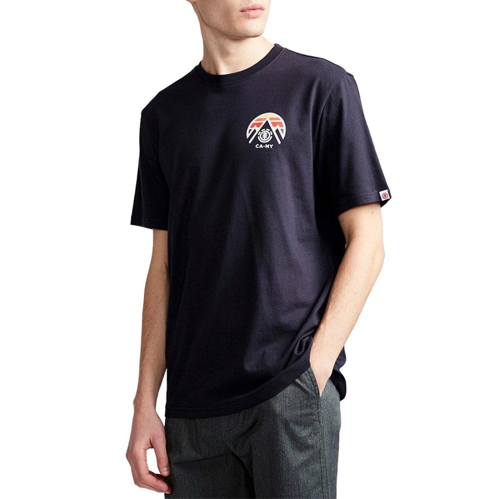 Element Tri Tip S/S T-Shirt - Eclipse Navy