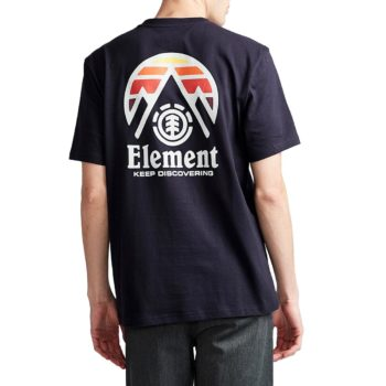 Element Tri Tip S/S T-Shirt - Eclipse Navy