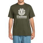 Element Vertical S/S T-Shirt - Forest Night