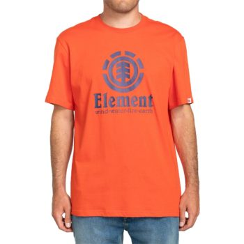Element Vertical S/S T-Shirt - Red Clay
