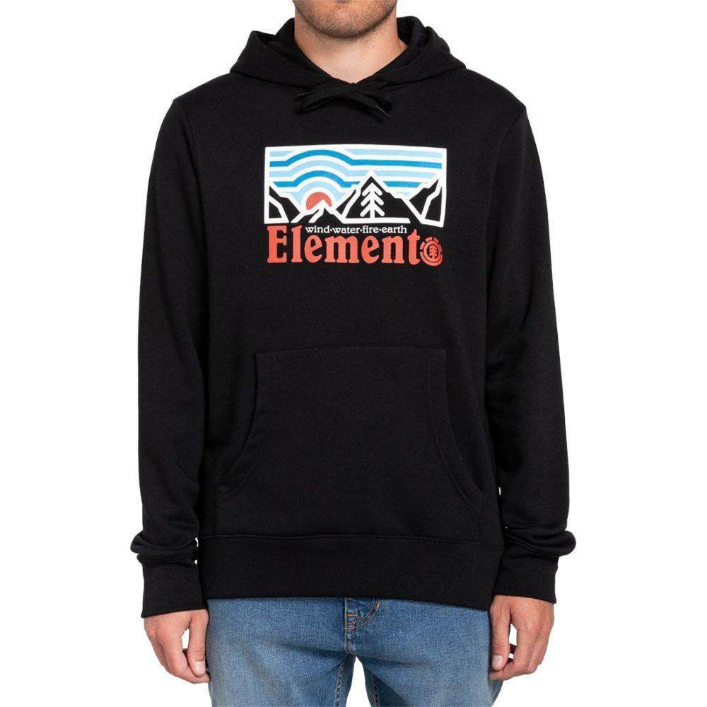 Element Wander Pullover Hoodie - Flint Black