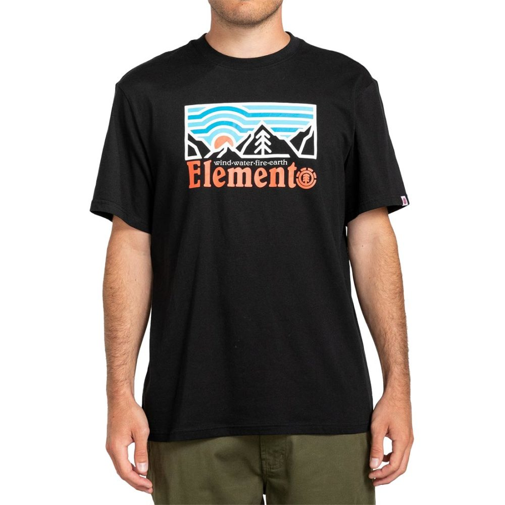 Element Wander S/S T-Shirt - Flint Black