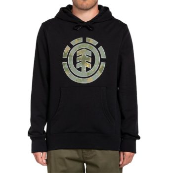 Element Water Camo Icon Fill Pullover Hoodie - Flint Black