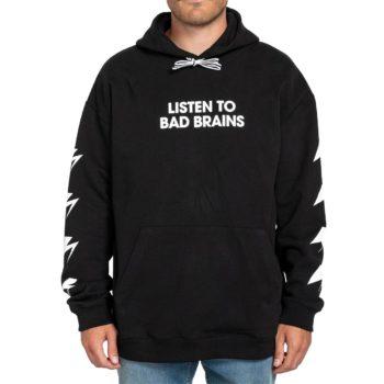 Element x Bad Brains Listen 2 BB Pullover Hoodie - Flint Black