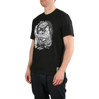 Element x Timber The Remains Vendor S/S T-Shirt - Flint Black