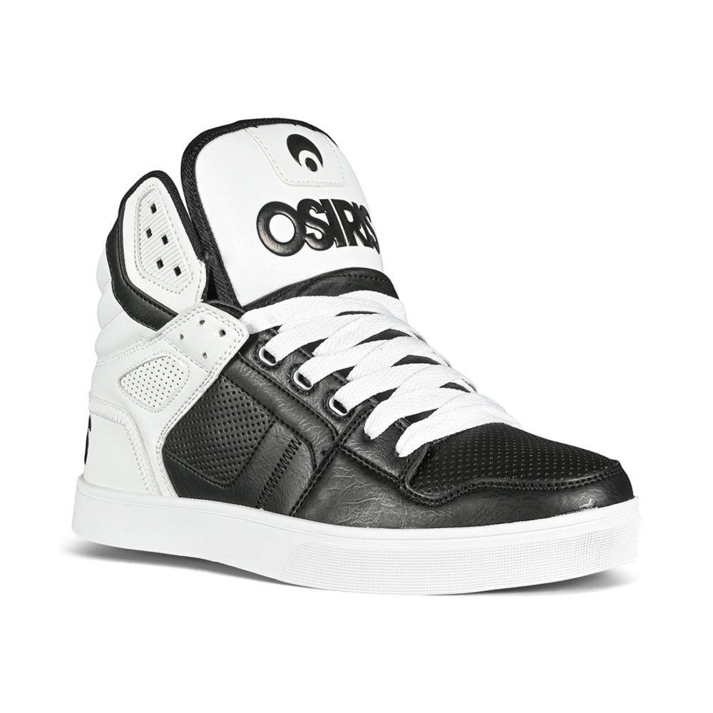 Osiris Clone High-Top Shoes - Black / White / Dip