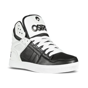 Osiris Clone High-Top Shoes - Black / White / Dip