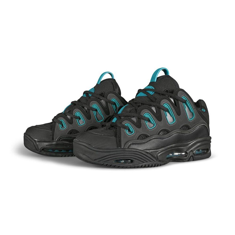 Osiris D3 2001 Skate Shoes - Black / Teal