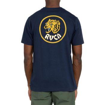 RVCA Dynasty S/S T-Shirt - Moody Blue