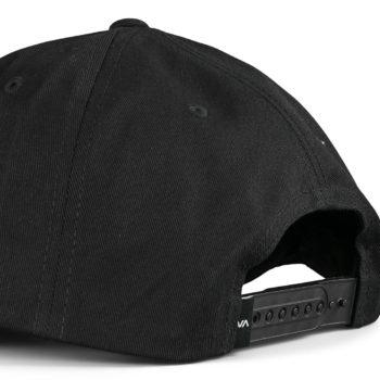 RVCA Dynasty Snapback Cap - Black