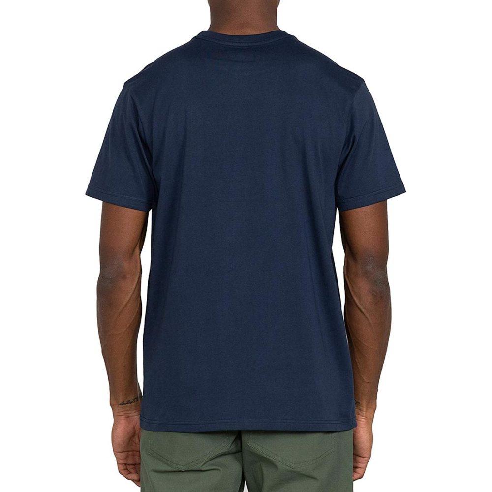 RVCA Front VA All The Way S/S T-Shirt - Moody Blue