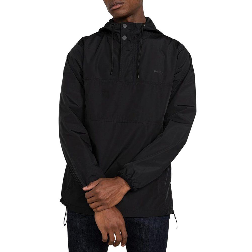 RVCA Krail Anorak Jacket - RVCA Black