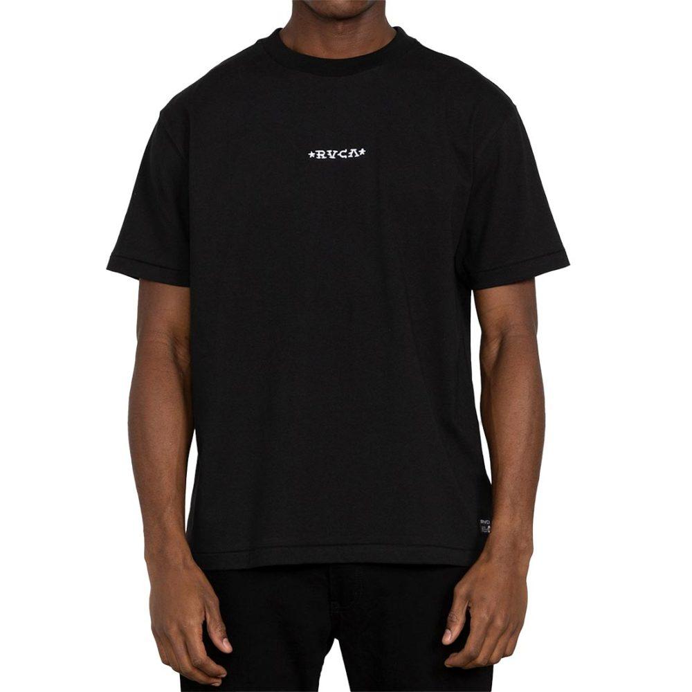 RVCA Krak Daggers S/S T-Shirt - Black