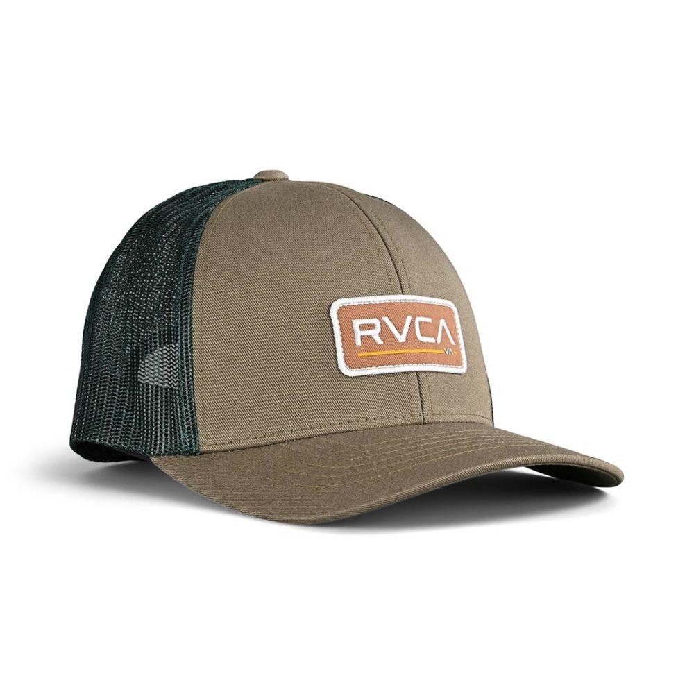 RVCA Ticket Trucker III Trucker Cap - Aloe