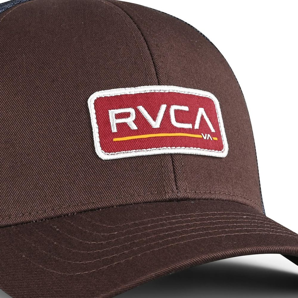 RVCA Ticket Trucker III Trucker Cap - Chocolate
