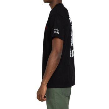 RVCA Tiger Stare S/S T-Shirt - Black