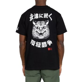 RVCA Tiger Stare S/S T-Shirt - Black
