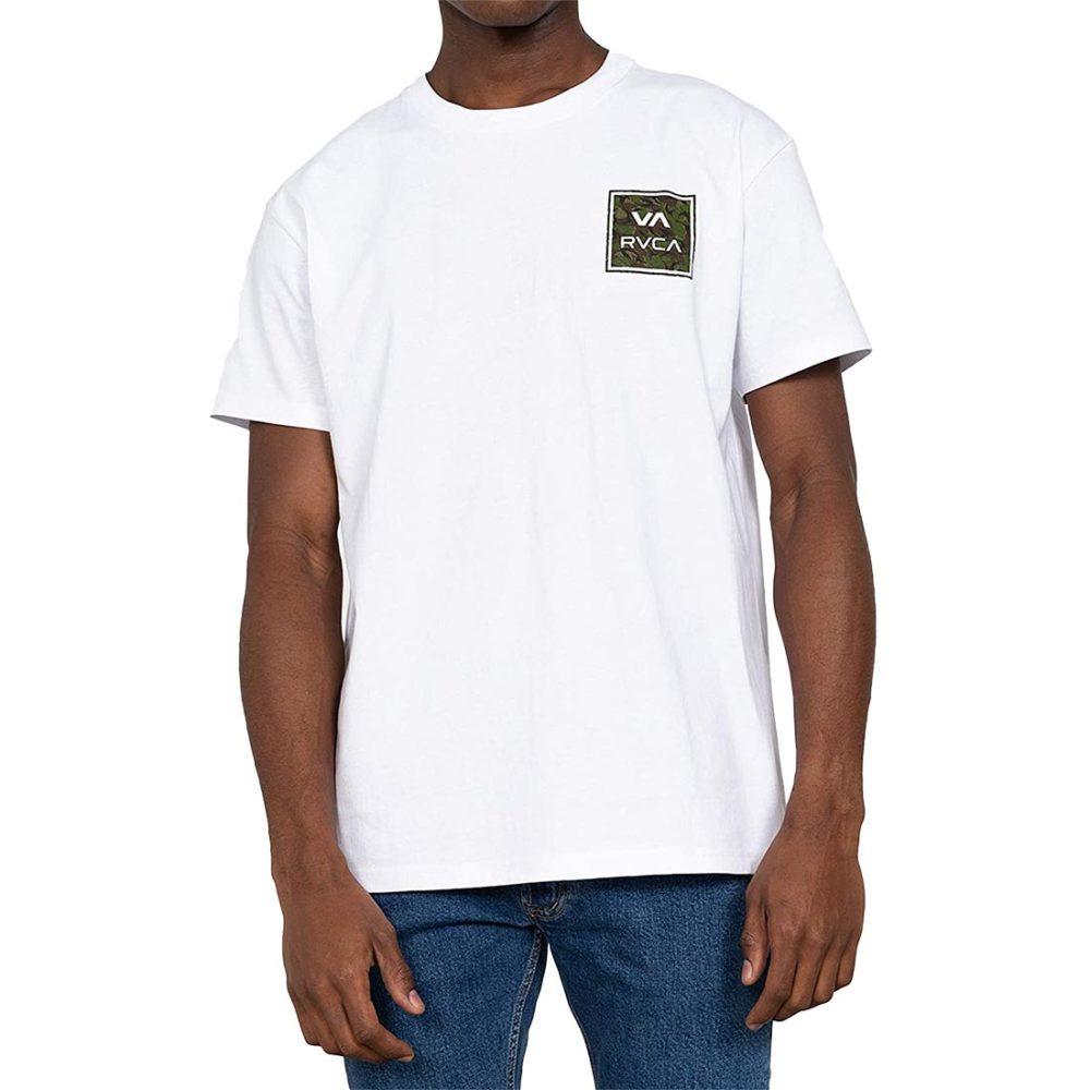 RVCA VA All The Way S/S T-Shirt - White