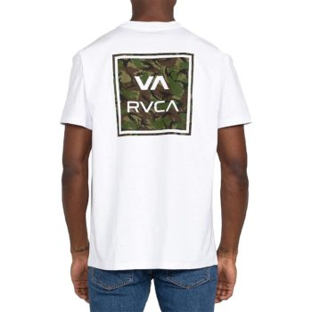 RVCA VA All The Way S/S T-Shirt - White