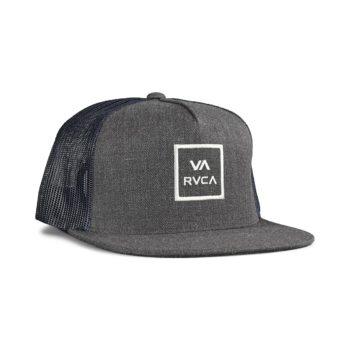 RVCA VA All The Way Trucker Cap - Charcoal Grey
