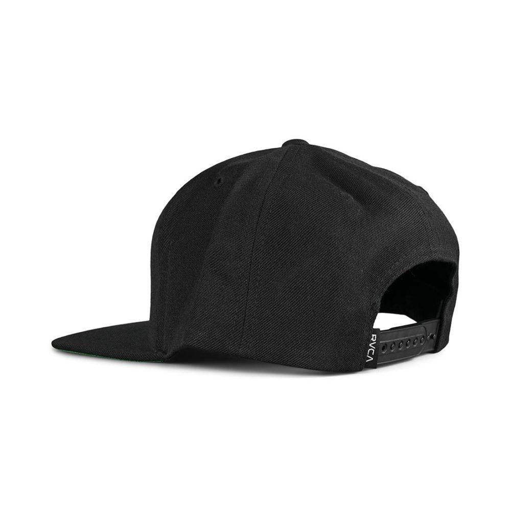 RVCA VA Patch Snapback Cap - Black