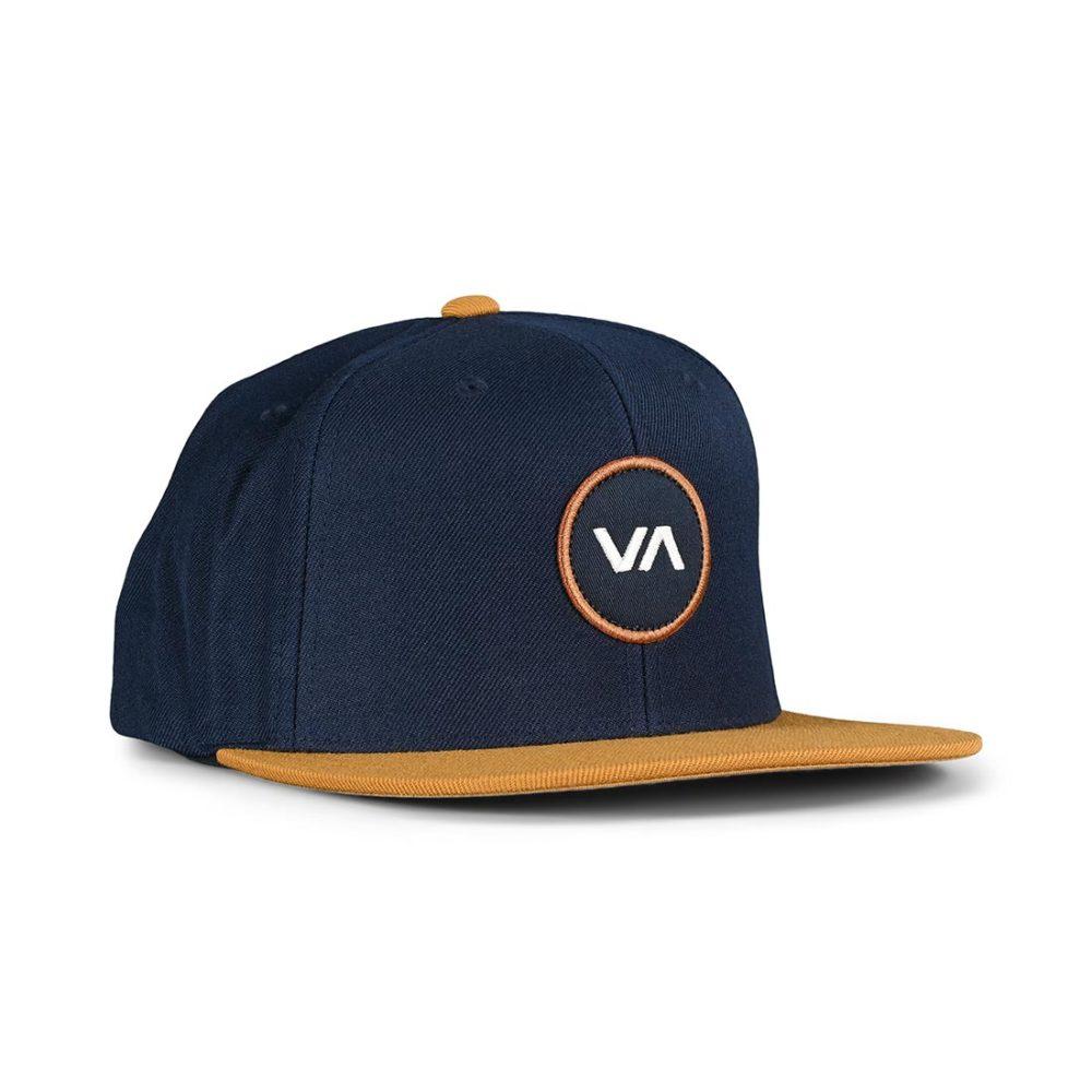 RVCA VA Patch Snapback Cap - Navy / Khaki