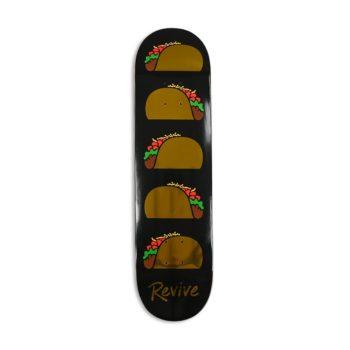 Revive Golden Foil Taco Canadian Maple Skateboard Deck