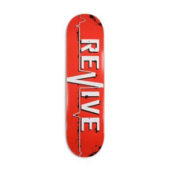 Revive Red Lifeline Canadian Maple Skateboard Deck