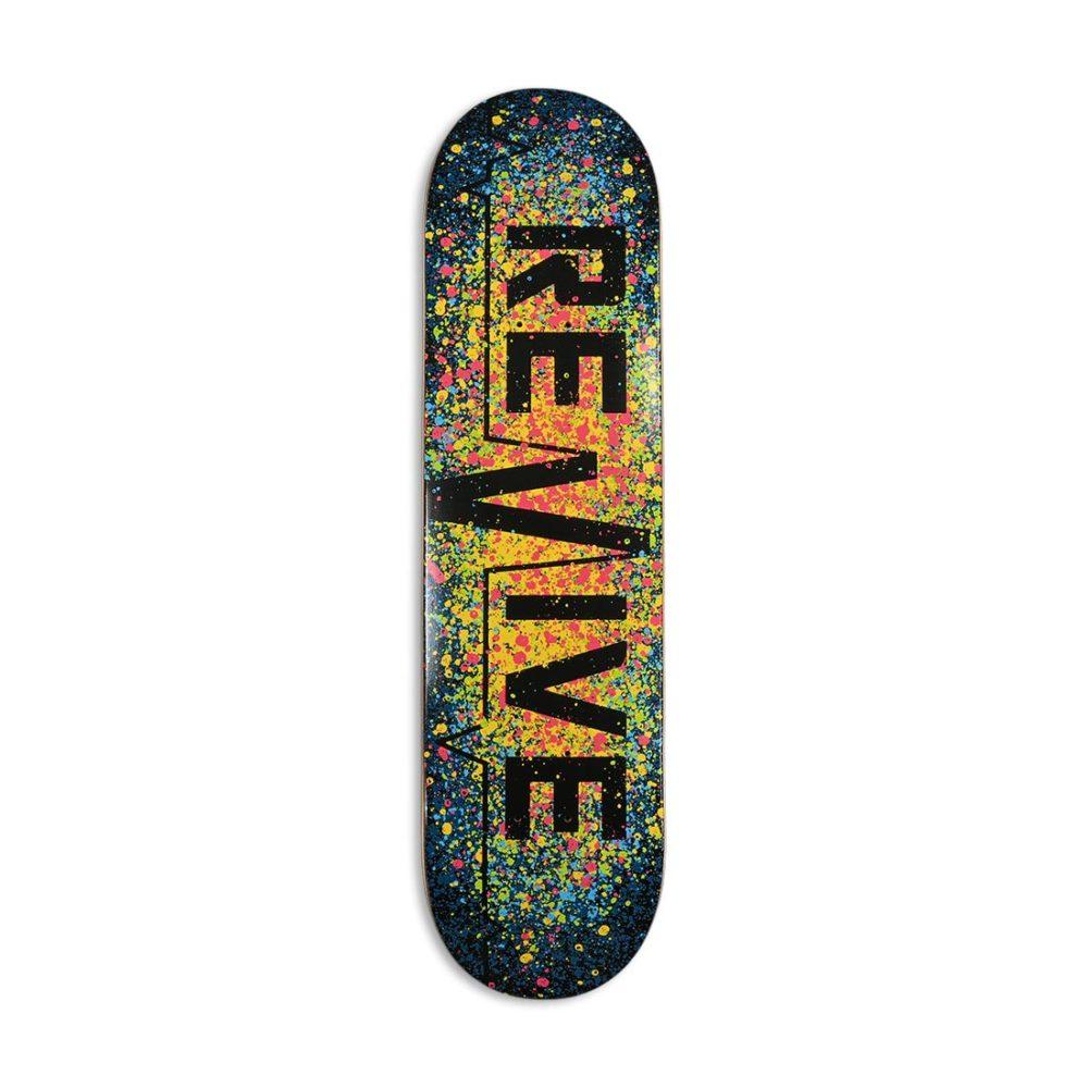 Revive Splatter 3.0 Canadian Maple Skateboard Deck
