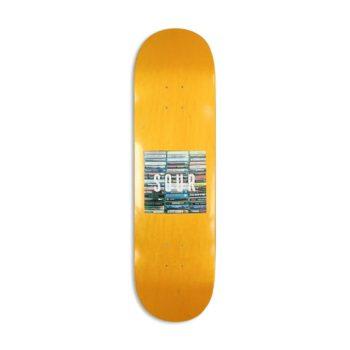 "Sour Solution Box Logo Tapes 8.5"" Skateboard Deck"