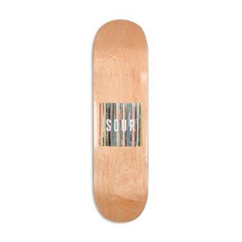 "Sour Solution Box Logo Vinyls 8.25"" Skateboard Deck"