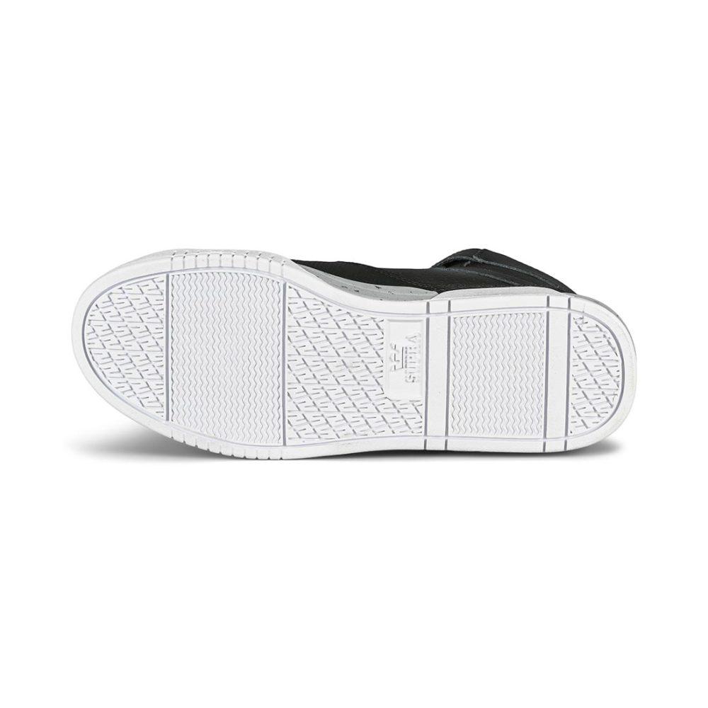 Supra Breaker High-Top Shoes - Black / Lt Grey / White