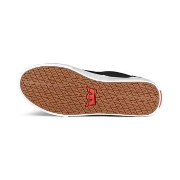 Supra Chino Skate Shoes - Black / Red / White