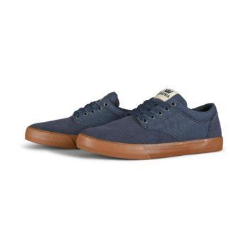 Supra Chino Skate Shoes - Navy / Bone / Gum