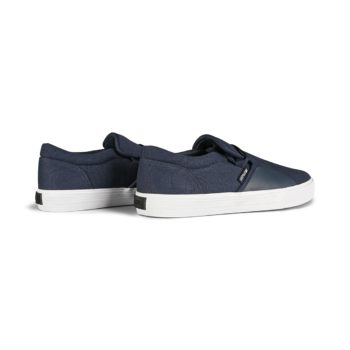 Supra Cuba Skate Shoes - Navy / White