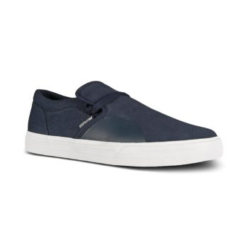 Supra Cuba Skate Shoes - Navy / White