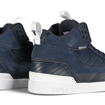 Supra Penny Pro High-Top Shoes - Navy / White