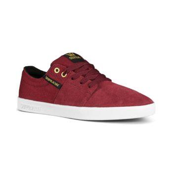 Supra Stacks II Skate Shoes - Wine / White
