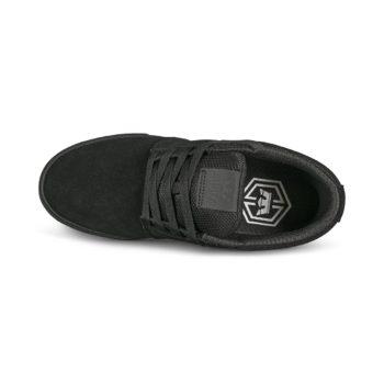 Supra Stacks Vulc II Skate Shoes - Black / Black / Black