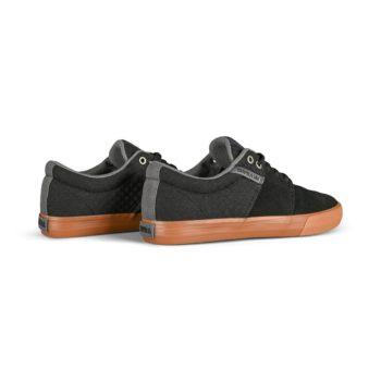 Supra Stacks Vulc II Skate Shoes - Black / Grey / Gum