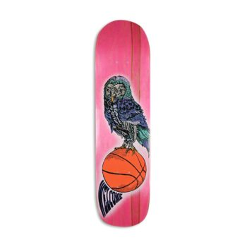 "Welcome Hooter Shooter on Bunyip 8"" Skateboard Deck"