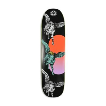 "Welcome Peggy on Sone Of Moontrimmer 8.25"" Skateboard Deck - Black"