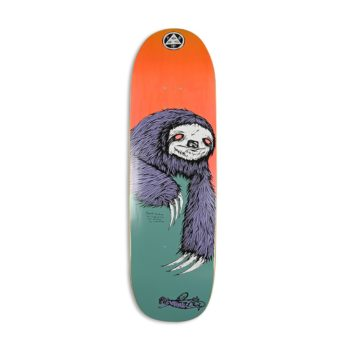 "Welcome Sloth on Boline 9.25"" Skateboard Deck"