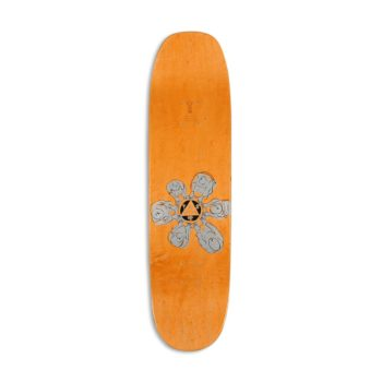 "Welcome Tamarin on Moontrimmer 2.0 8.5"" Skateboard Deck - White"