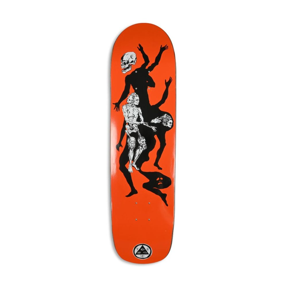 """Welcome The Magician on Son Of Planchette 8.38"""" Deck - Orange"""