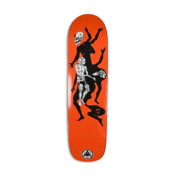 "Welcome The Magician on Son Of Planchette 8.38"" Deck - Orange"