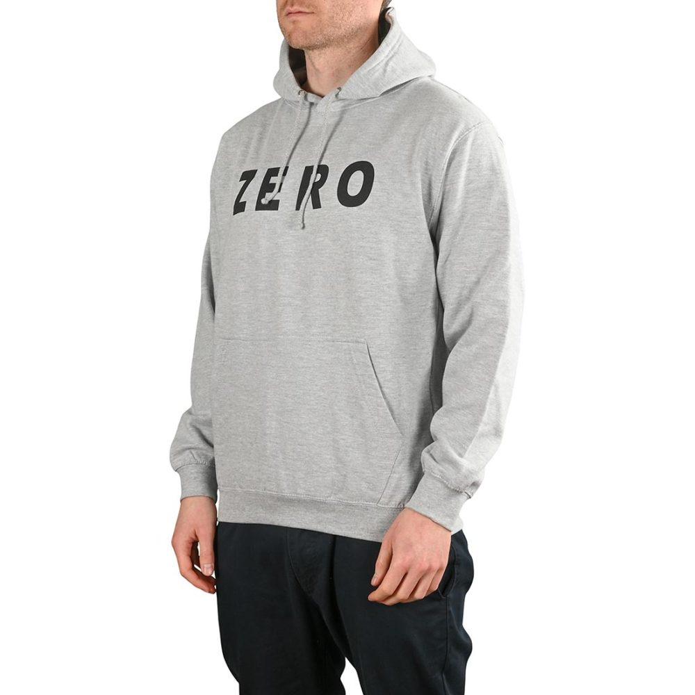 Zero Army Pullover Hoodie - Grey / Black